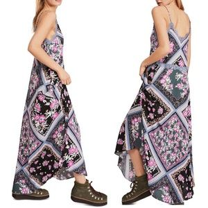 NWT FREE PEOPLE Stevie Floral Lace Maxi Dress XS
